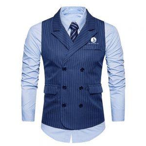 Áo ghile nam BO-GLNA03 xanh dương