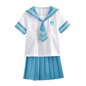 Đồng phục học sinh nữ BO-HSNU01 xanh dương