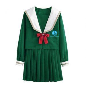 Đồng phục học sinh nữ BO-HSNU05 xanh lá