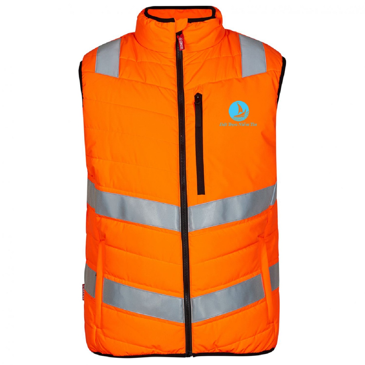 Đồng phục áo bảo hộ mã BO-GLBH04 – Cam