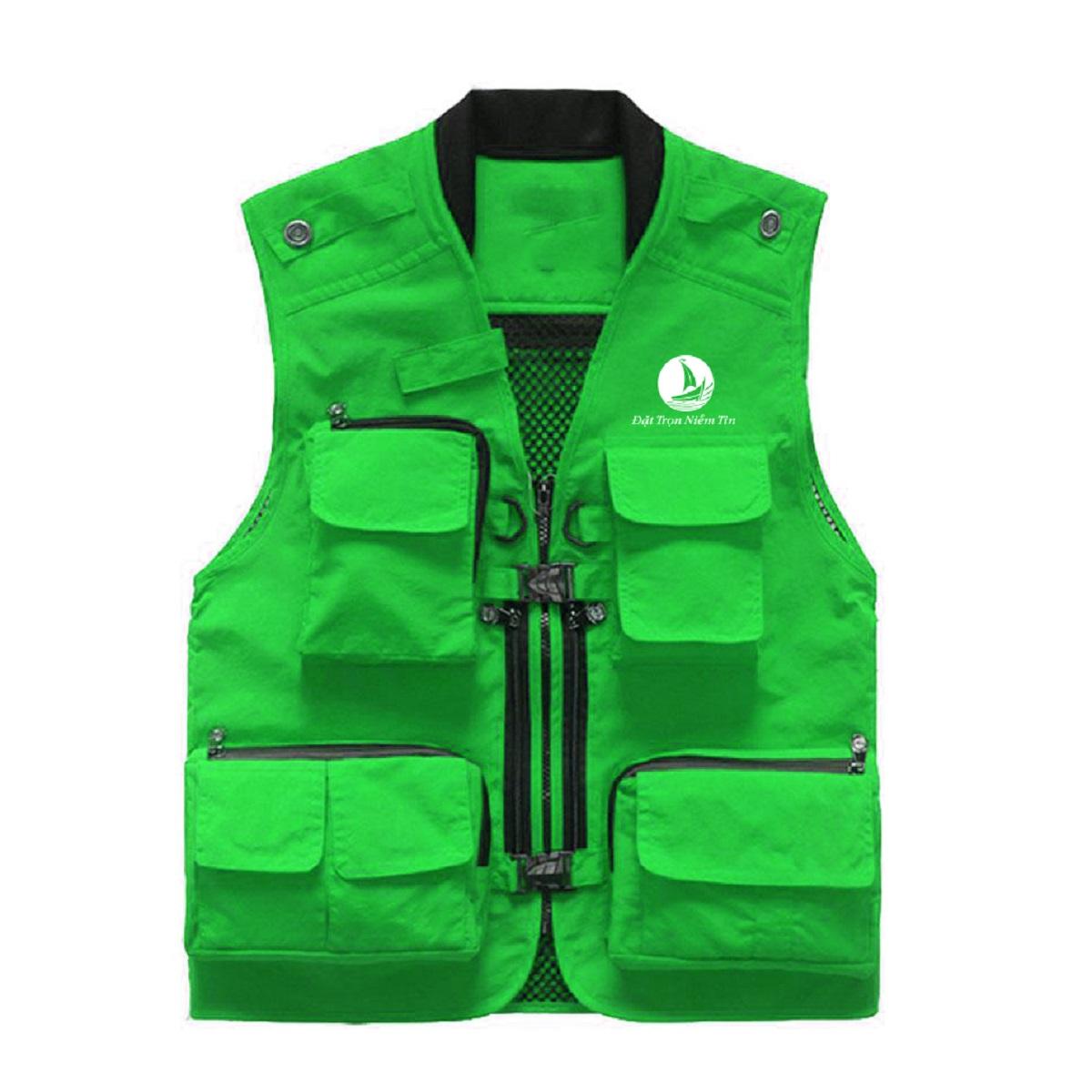Đồng phục áo bảo hộ mã BO-GLBH05 – Xanh Lá