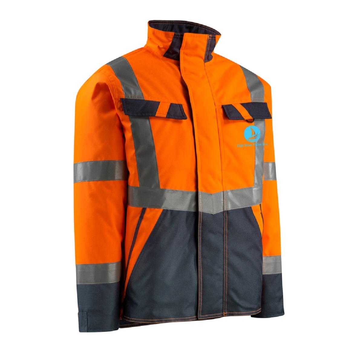 Mẫu đồng phục áo bảo hộ mã BO-ABH01 – Cam