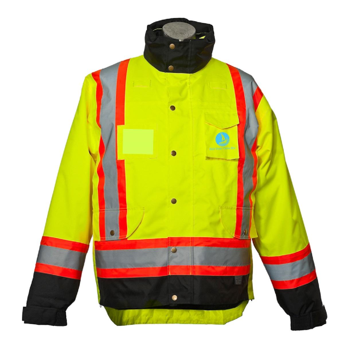 Mẫu đồng phục áo bảo hộ mã BO-ABH02 – Vàng