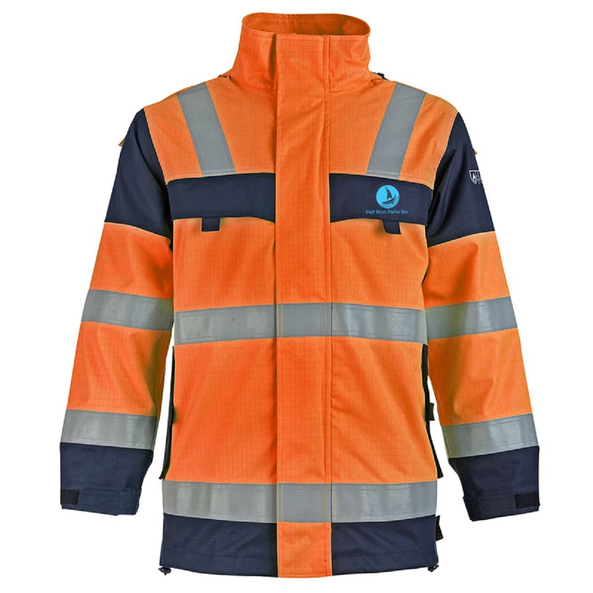 Mẫu đồng phục áo bảo hộ mã BO-ABH03 – Cam