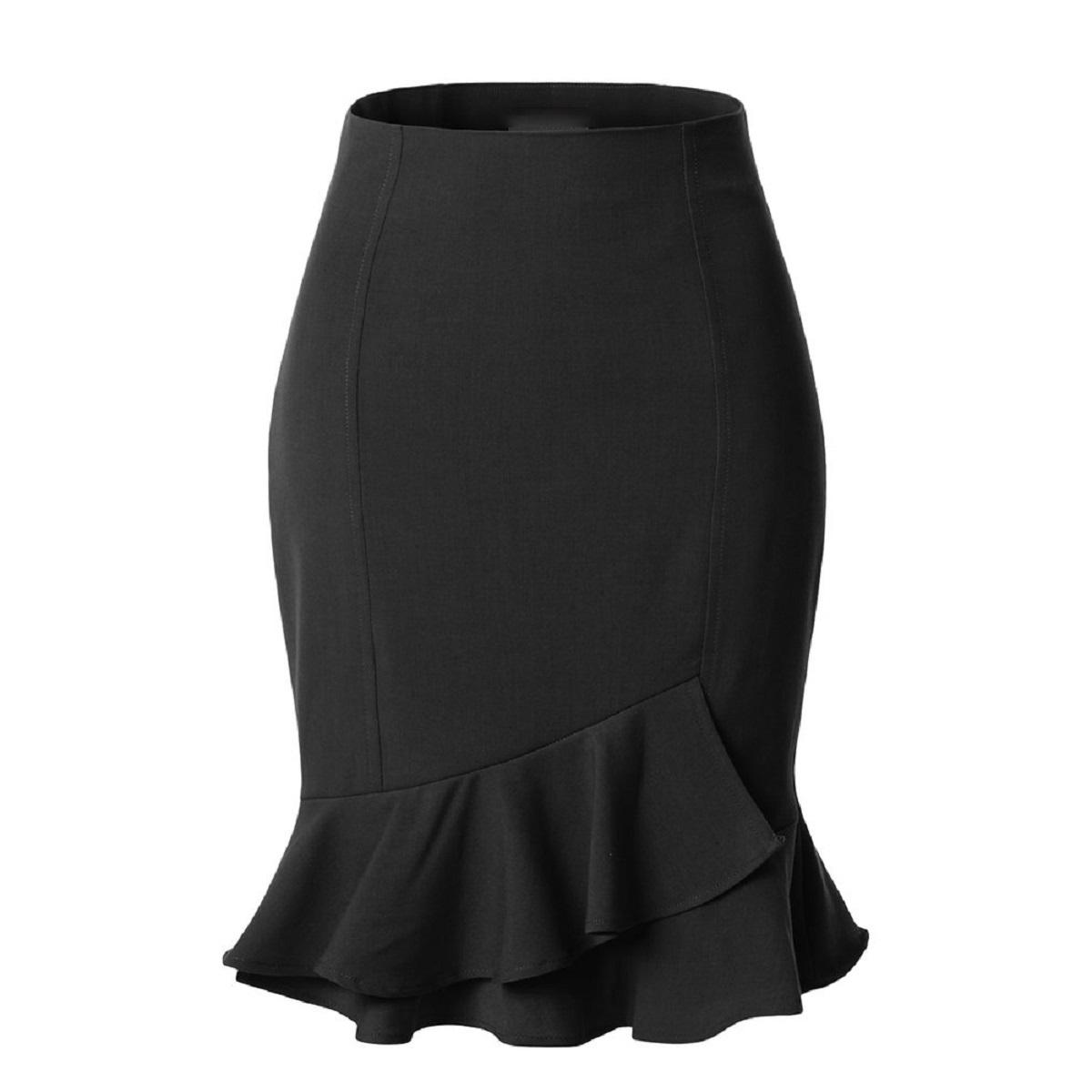 Form chân váy giúp tôn lên vóc dáng nữ, mông tròn hơn, nhấn eo và bụng phẳng hơn