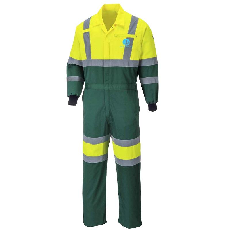 Trang phục bảo hộ lao động sáng cho các môi trường làm việc thiếu ánh sáng.