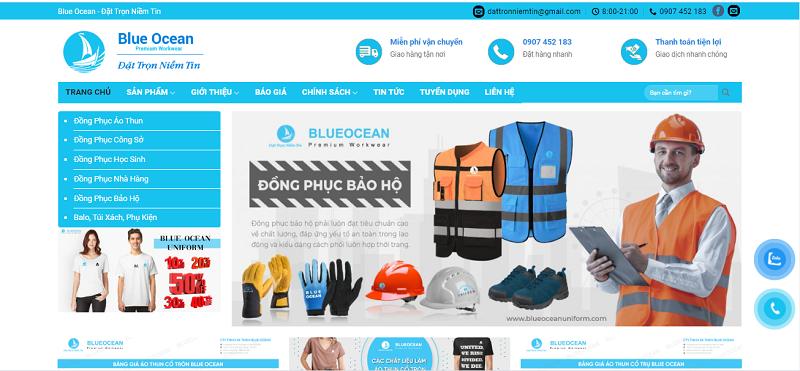 Công ty TNHH TM DV Blue Ocean hotline 0907 452 183
