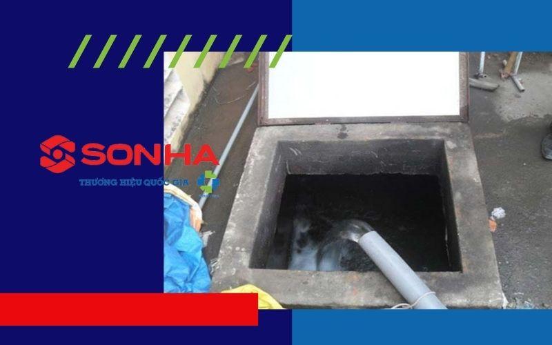 Bể nước ngầm có thể ở ngoài hoặc trong nhà
