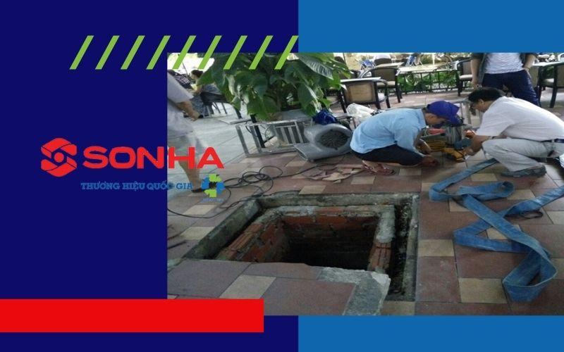 Dùng gạch đặc chứ không dùng gạch lỗ xây bể nước ngầm